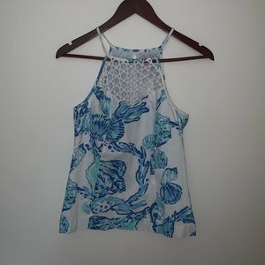 Lilly Pulitzer high neck tank